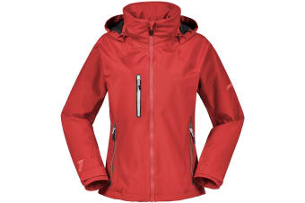 Musto Womens/Ladies Sardinia II BR1 Jacket (True Red/Platinum)