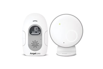 Angelcare Nursery Rechargeable Baby Sound Monitor w/Temperature Indicator/LED