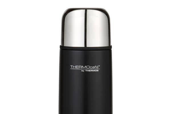 Thermos Thermocafe S/S Slimline Vacuum Flask 1L Matte Black