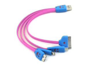 Lightning/Micro Usb/Micro-B Charging Cable For iPhone Samsung Tablet Smartphones
