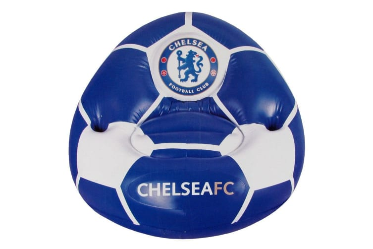 Chelsea FC Inflatable Chair (Blue/White) (One Size)