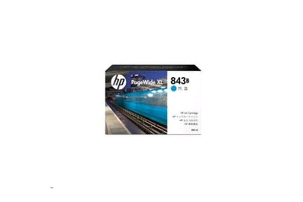 HP C1Q62A 843B 400ml Cyan Ink Cartridge