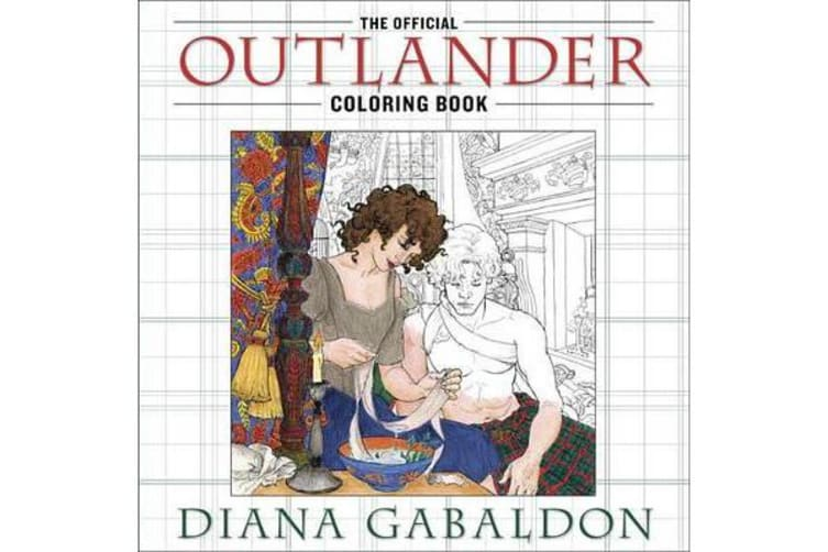 The Official Outlander Coloring Book - An Adult Coloring Book