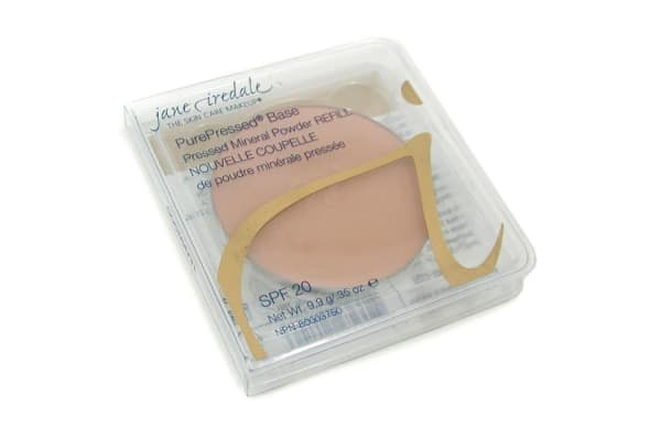 Jane Iredale PurePressed Base Pressed Mineral Powder Refill SPF 20 - Teakwood (9.9g/0.35oz)