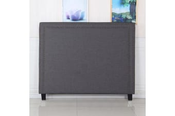 Enzo Queen Charcoal Headboard