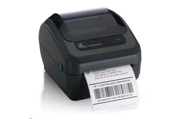 Zebra GK420D DIRECT THERMAL Label Printer 203 DPI EPL2 AND ZPL II USB AND ETHERNET (10/100) (R2.0)