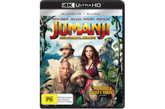 Jumanji Welcome to the Jungle 4K Ultra HD Blu-ray Digital Download UHD Region B