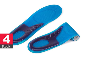 Bella Vita Sports Gel Insoles (Men's) - 4 Pack