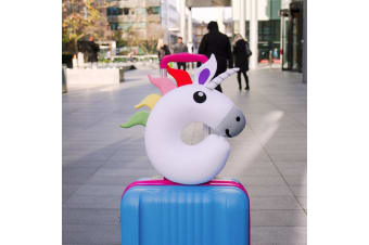 Rainbow Unicorn Travel Cushion