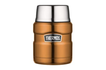 Thermos Stainless King 470ml Vacuum Insulated Food Jar (Copper)