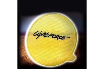 LIGHTFORCE 170 STRIKER YELLOW SPREAD FILTER DRIVING LIGHTS LAMPS LAMP