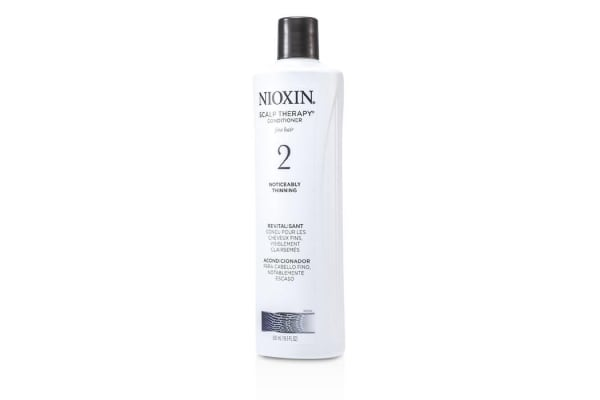 Nioxin System 2 Scalp Therapy Conditioner For Fine Hair, Noticeably Thinning Hair 500ml/16.9oz