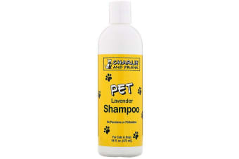 Charlie & Frank Pet Shampoo for Pets Dogs & Animals No Dyes Parabens Phthalates or Phosphates - Lavender, 473ml