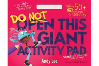 Do Not Open This - Giant Activity Pad