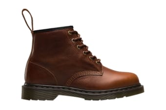 Dr. Martens 101 Harvest Leather Fashion Boot (Tan, Size UK 4)