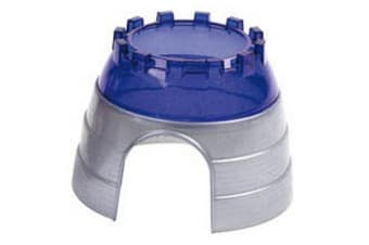 Superpet Critter Pet Cage Cyber Dome (Silver/Blue) (One Size)