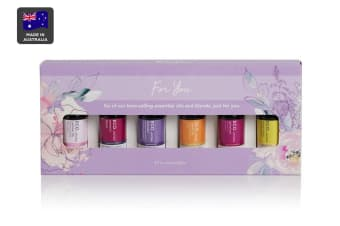ECO. Aroma For You Oil Collection - 6 Pack (Lavender, Geranium, Women's Blend, Jasmine, Ylang Ylang, Neroli)