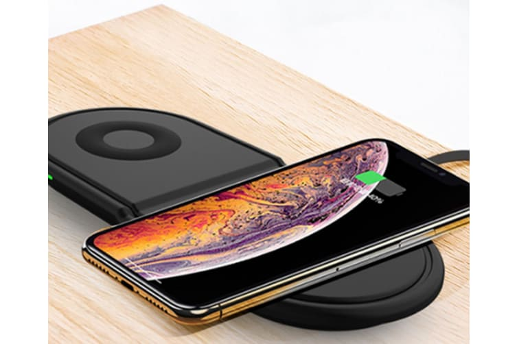 Select Mall Multifunctional 3 In 1 Fast Charge Wireless Charger Mobile Universal Tablet Desktop Wireless Charger
