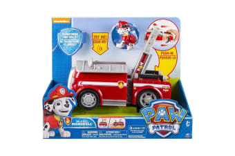 Paw Patrol On a Roll Marshall Figure and Vehicle with Sounds