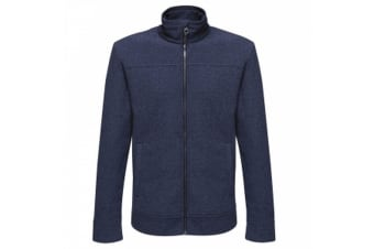 Regatta Mens Parkline Full Zip Fleece Jacket (Navy)