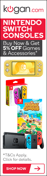 5% OFF Selected Nintendo Switch Games & Accessories with any Nintendo Switch Console purchase*