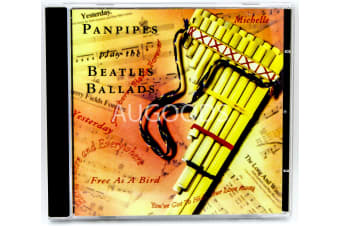 Panpipes Play The Beatles Ballads BRAND NEW SEALED MUSIC ALBUM CD - AU STOCK