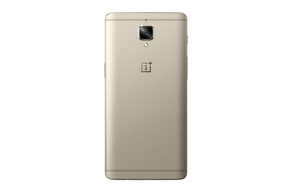 OnePlus 3T Dual SIM (64GB, Soft Gold)