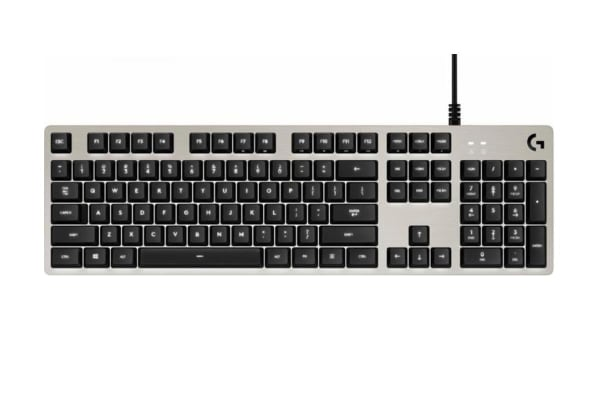 Logitech G413 Mechanical Gaming Keyboard - Silver (920-008477)