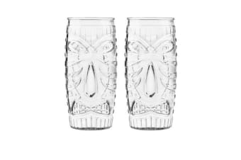 Libbey Tiki Cooler Glass Set of 2