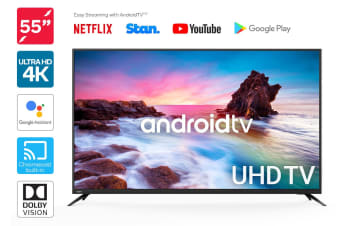 "Kogan 55"" Smart HDR 4K UHD LED TV Android TV™ (Series 9, XU9210)"