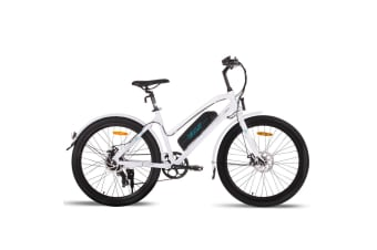 VALK Electric Bike eBike Ladies e-Bike Motorized Bicycle Womens Battery 36V 250W
