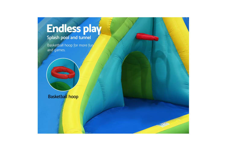 Happy hop inflatable water jumping castle bouncer toy for Happy hop inflatable water slide
