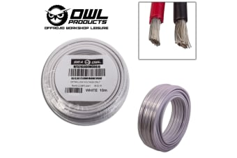 2 CORE 6MM x 10 METRES TINNED COPPER CABLE WIRE WIRING MARINE BOAT TRAILER OWL