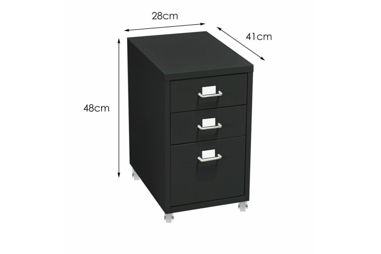 Metal File Cabinet With Drawers Office