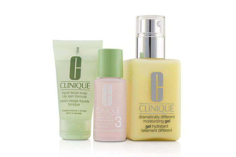 Clinique 3-Step Skin Care System (Skin Type 3) 3pcs