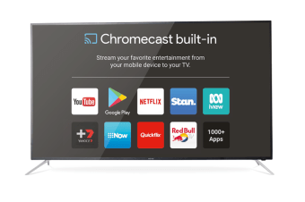 "SONIQ NX-Series 55"" Ultra HD Google Chromecast TV N55UX17C-AU 100Hz"