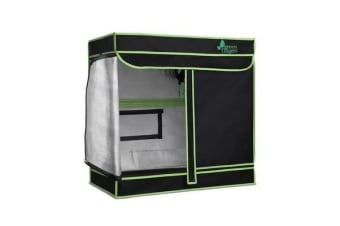 Greenfingers 80 x 45 x 80cm Grow Tents Hydroponics Plant Tarp Shelves Kit