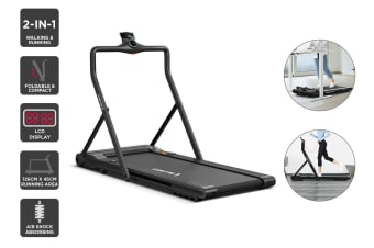 Fortis T3 Ultra Slim Foldable 2-in-1 Walking & Running Smart Treadmill