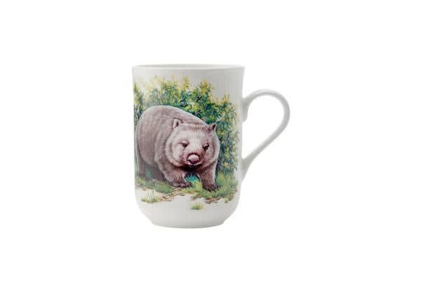 Maxwell & Williams Cashmere Animals of Australia Mug 300ml Wombat