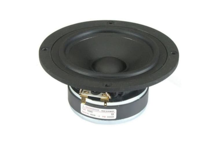 Scan Speak 5 Mid Woofer Discovery Rubber Surround Magnet System Aluminium Ring