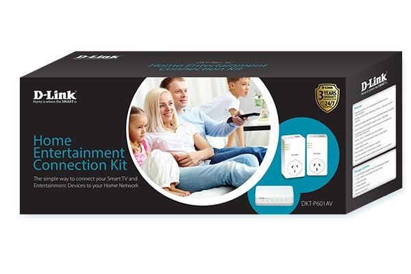 D-Link Home Entertainment Connection Kit (DKT-P601AV)