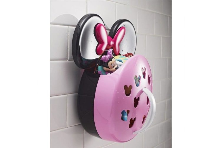 First Years Disney Minnie Mouse Baby Bath Tub Scoop & Storage for Toys/Kids