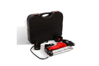 20V Rechargeable Cordless Grease Gun (Red)