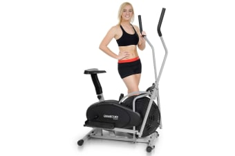 2-in-1 Elliptical cross trainer and exercise bike