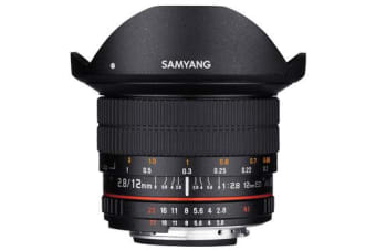 New Samyang 12mm f/2.8 ED AS NCS Fish-eye Lens for Nikon (FREE DELIVERY + 1 YEAR AU WARRANTY)