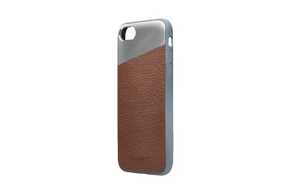 Cygnett Element Leather Case for iPhone 8 Plus - Brown