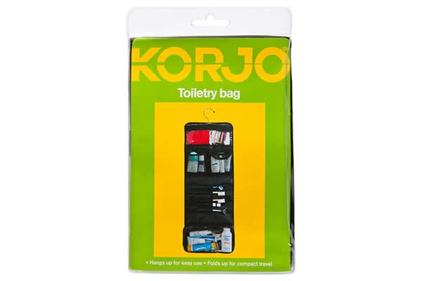 Korjo Hanging Toiletry Bag