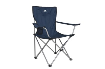 Trespass Settle Folding Camping Chair And Carry Bag (Blue) (One Size)