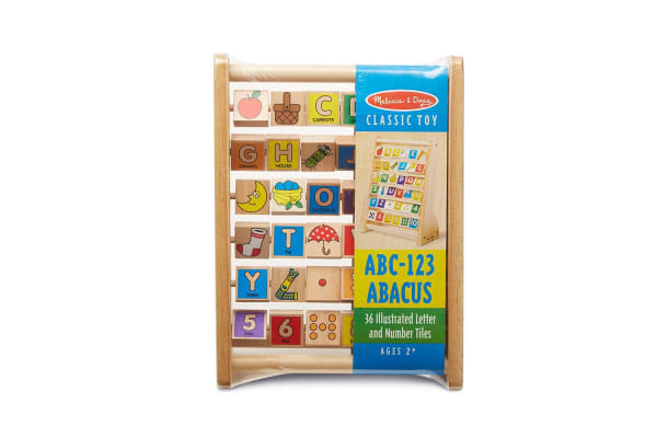 Melissa and Doug ABC 123 Abacus
