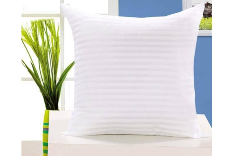 Soft Sofa Pillow Pillow Core Fluffy Cushion Core White 30*30Cm